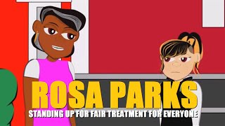 Rosa Parks Cartoon (Educational Videos for Students) Watch Cartoons Online (Cartoon Network)