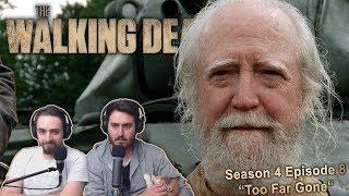 """The Walking Dead Season 4 Episode 8 Reaction """"Too Far Gone"""" (2/2)"""