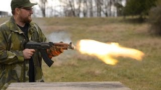 Repeat youtube video In Memory Of Kalashnikov: 700 Round AK Burn