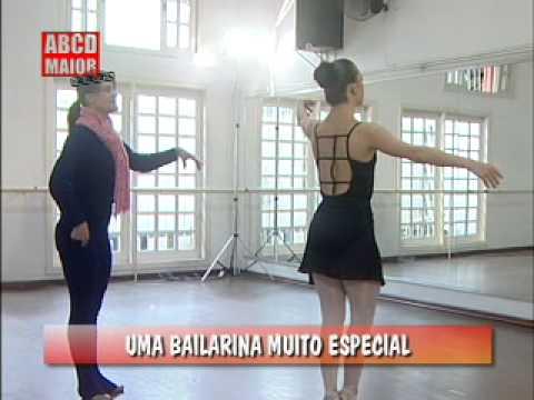 Baixar Bailarina especial supera desafios na ponta dos pés