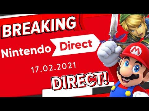 Nintendo kündigt neue Direct an! - Breaking