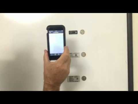 Barcodes: Scan UID tags with Android and iPhone devices