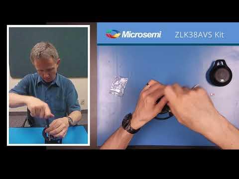 Microsemi  ZLK38AVS Evaluation KIT; Part 1: Kit Assembly