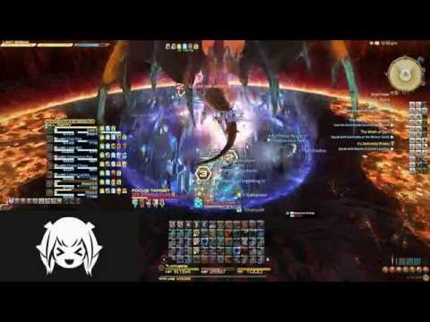 FFXIV ARR: World Second Turn 13; Final coil of Bahamut Turn 4 - Collision of Gilgamesh (Whm Pov)