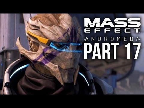 MASS EFFECT ANDROMEDA Walkthrough Part 17 - VETRA LOYALTY MISSION (Female) Full Game