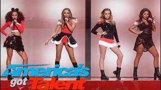 Little Mix - Black Magic (Live on America's Got Talent) HD