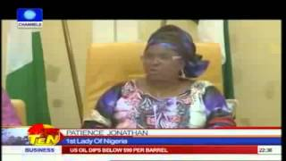 Patience Jonathan Breaks Down In Tears Over Chibok Abduction