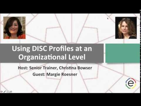 Using DISC Profiles at an Organizational Level