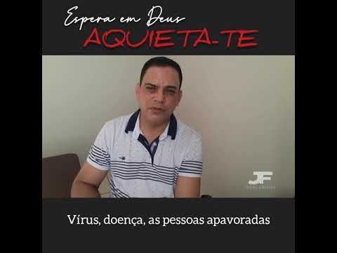 AQUIETA-TE! DEUS ESTÁ NO CONTROLE.