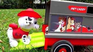 Funny Stacy Saving Patrol Toys  -  Top videos about children  - Educational Video for Kids Children