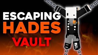 Escaping Minecraft's Most Inescapable Prison (hades vault) ft. SeenSven