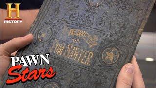 Pawn Stars: VERY RARE 1876 Mark Twain Book is PURE GOLD (Season 8) | History