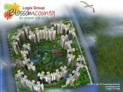 Logix Blossom County luxurious apartments Noida Expressway