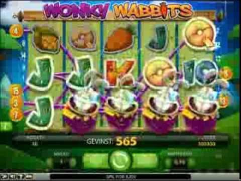 Wonky Wabbits - Spillet, hvor wilds altid rammer bedst
