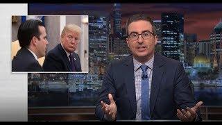 John Oliver - President's Somber Duty Skids Into Spectacle - Last Week Tonight HBO