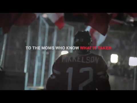Sport Chek Mother's Day ad featuring Meaghan Mikkelson