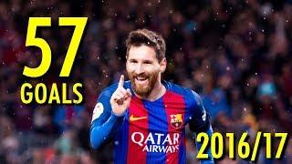Lionel Messi - All 57 Goals in 2016/17 - Golden Boot Winner (HD)