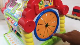 Unboxing, Learn Shapes with Activity House Toy,  Colors and Shapes Videos Collection for Children