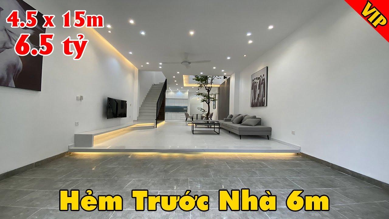 Nhà đẹp đường Nguyễn Oanh full nội thất hẻm 6m rộng rãi giá chỉ 6 tỷ hơn video