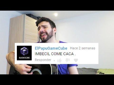 CANTANDO comentarios de HATERS