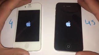 iPhone 4S iOS 9.2.1 vs iPhone 4 iOS 7.1.2 - Speed Test