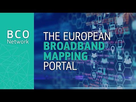 The European Broadband Mapping portal photo