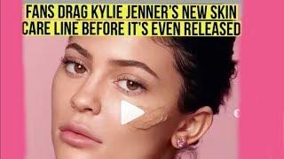 Fans Drag Kylie Jenner's new skin care line Walnut Scrub for facials