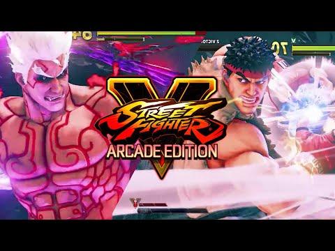 SFV: Kage (Asura Costume) VS Ryu