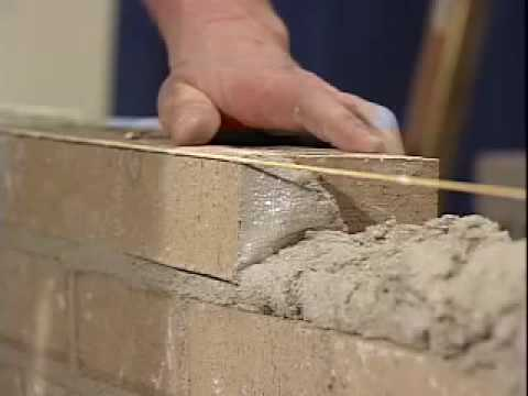 The Art Of Laying Brick Youtube