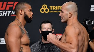 UFC Vegas 13: Weigh-in Faceoffs