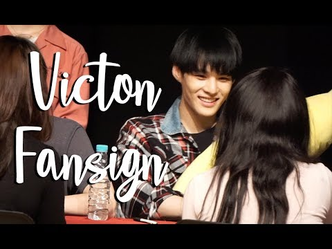 VICTON FANSIGN EXPERIENCE #9 (COMEBACK!)
