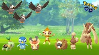 Our First Generation 4 Pokémon Go Hunt!