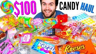 $100 CANDY STORE HAUL!