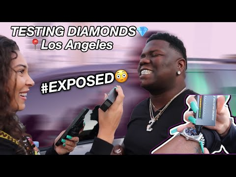 TESTING STRANGERS DIAMONDS| LOS ANGELES EDITION💎😭