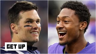 Stefon Diggs deleted his Vikings pictures ... could he join Tom Brady on the Patriots? | Get Up