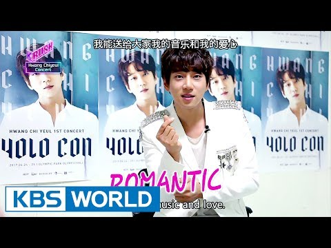 Hwang Chiyeol's concert Interview [KBS World Idol Show K-RUSH / 2017.07.07]