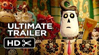 The Book of Life Ultimate Trailer (2014) - Zoe Saldana Animated Movie HD