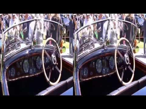 Famous classic cars 3D - Villa Erba 2013