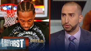 Nick Wright on what Kawhi joining the Lakers would mean for LeBron   NBA   FIRST THINGS FIRST