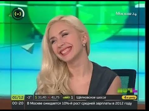Анастасия Гребёнкина в гостях у шоу «Ночь»
