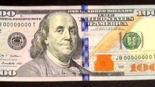 США выпустили новую 100-долларовую банкноту