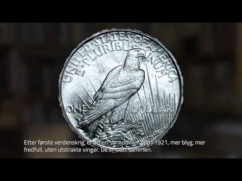 Den amerikanske sølvdollarens  historie