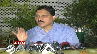 BJP MP Sujana Chowdary Press Meet on Amaravathi and Flood ..