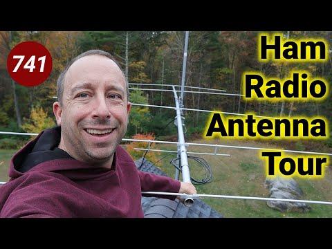 Ham Radio Antenna Tour - #MNHR
