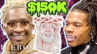 Young Thug & Lil Baby at Icebox Together for First Time!  Spends $150K!!!