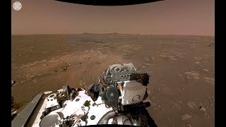 NASA'S Perseverance Rover's First 360 View of Mars Official