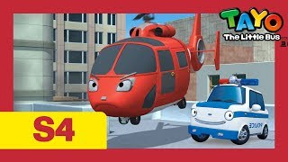 The brave cars and new emergency center l Tayo S4 Compilation l Tayo the Little Bus