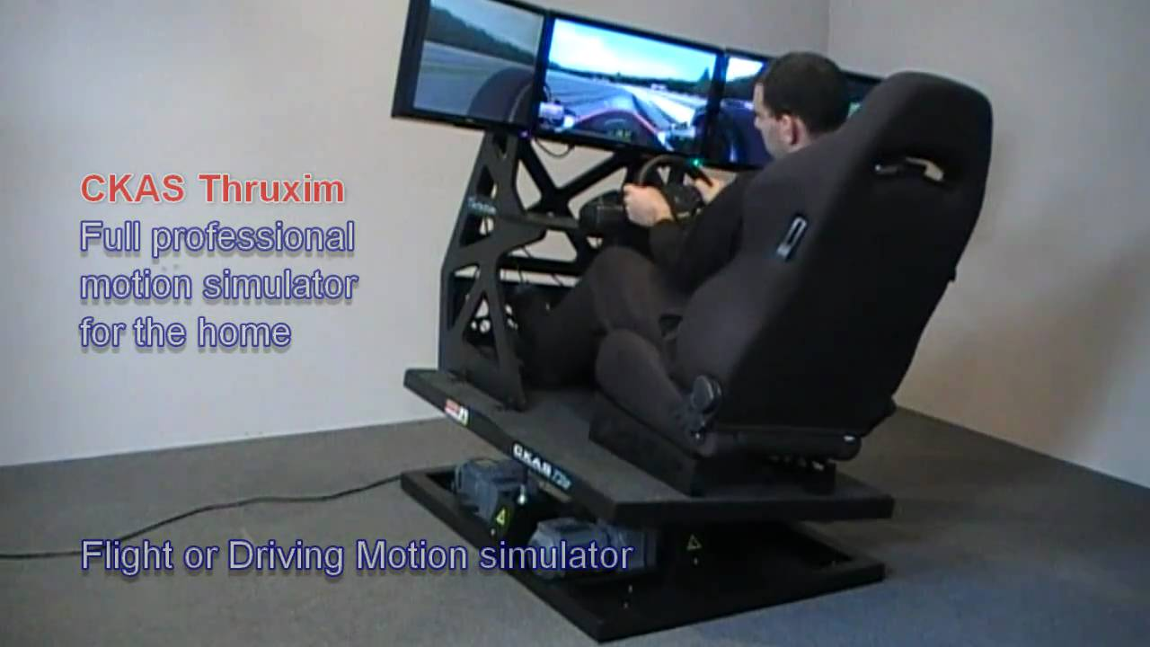 Ckas Quot Thruxim Quot Motion Flight Simulator And Motion Driving
