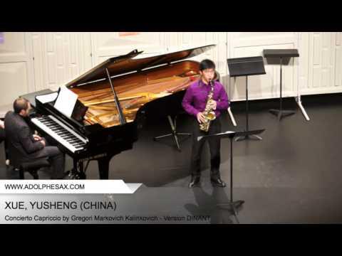 Dinant 2014 - XUE Yusheng (Concierto Capriccio by Gregori Markovich Kalinkovich - Version DINANT)