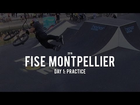FISE Montpellier 2016: Day 1 - Practice